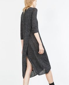 DRESS WITH SLIT AT BACK-View all-Dresses-WOMAN | ZARA United States