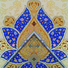 Islamic Art, My Drawings, Patterns, Floral, Painting, Ideas, Ornament, Block Prints, Flowers