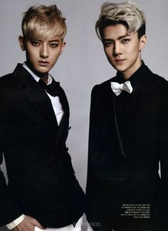 [SCANS] The Celebrity Magazine March 2014 Issue – Baekhyun, Sehun, Tao, Lay « EXO Fans Indonesia