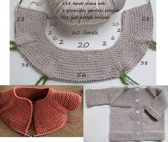 Crochet Zig Zag - Cómo hacer y unir MOTIVOS redondos al crochet/häkeln/ganchillo/uncinetto Baby Knitting Patterns, Knitting For Kids, Baby Patterns, Free Knitting, Knitting Projects, Crochet Patterns, Knitting Tutorials, Cardigan Bebe, Knitted Baby Cardigan