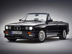 With every generation of the BMW we have seen the introduction of a convertible variant after the initial release of the coupe. It seems as though the debut of the cabrio comes earlier in the mo… Bmw E30 Cabrio, Bmw M4, Cabriolet Bmw, Bmw Alpina, Chip Foose, Audi Tt, Bmw M3 Convertible, Volvo, Peugeot
