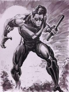 Nightwing by Freddie E Williams II