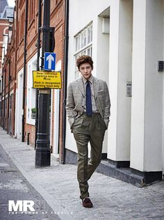 Ji Chang Wook in Magazine _Mr Style_  for Dunhill photoshoot  in London 2016.04