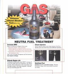131 Neutra Fuel Stabilizer Increase fuel mileage   12fl.oz SCHAEFFERS #SchaefferManufacturing