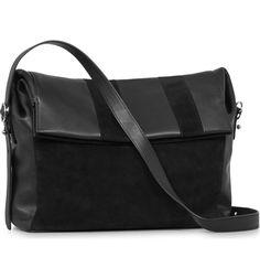 007b73740e ALLSAINTS Casey Calfskin Leather & Suede Shoulder Bag | Nordstrom. All  SaintsAllsaints BagsNew ...