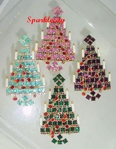 christmas tree pins | eBay