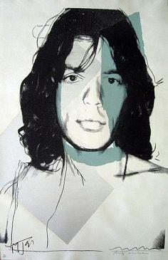 Andy Warhol: Mick Jagger (FS.II.138)