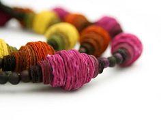Ana Hagopian paper Necklaces