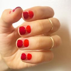 50 Trendy Red Nail Art Designs for Holiday Bling Nails, Red Nails, Hair And Nails, Matt Nails, Garra, Hello Kitty Nails, Red Nail Art, Nail Polish, Stiletto Nail Art