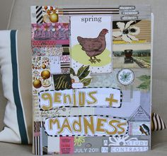 G-Love her art journals!