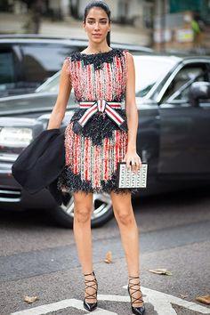 Best London fashion week street style : Harper's BAZAAR