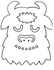 all the where the wild things are mask templates