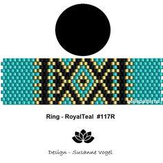 peyote ring patternPDF-Download 117R beading pattern