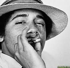 """Barack Obama - Famous Pot Smoker Obama explains that he got high not """"to prove what a down brother I was"""" but to """"push questions of who I was out of my mind."""" In marijuana, he says, he """"sought something that could flatten out the landscape of my heart, blur the edges of my memory."""""""