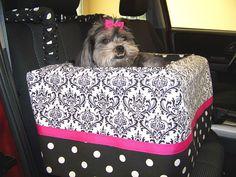 Custom Dog Car Seat - Large. $127.95, via Etsy.