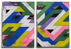kristy modarelli | Painted wood artwork from Aaron Moran ...