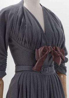 Madame Gres dress, 1953.