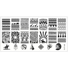 $4.99 Lovely Owl Pattern Nail Art Stamp Template Image Plate BORN ...