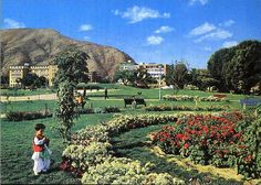 Afghanistan c Postcard - Zarnegar Park, Kabul Islamic Wallpaper Hd, The Kite Runner, Beautiful Places To Travel, Around The Worlds, Culture, Landscape, Park, 1970s, Outdoor