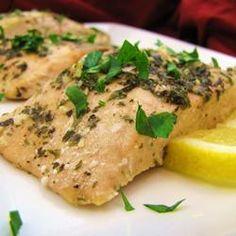 Baked salmon. De-lish!