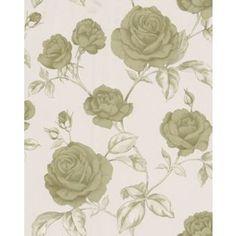 Arthouse vintage belvoir wallpaper teal from for Wallpaper homebase green