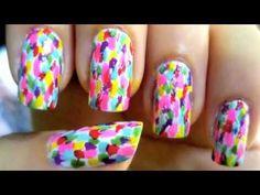 Unhas Decoradas - Unhas Divertidas - Fun Party Nail Art - YouTube