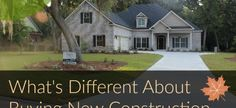 Differences Between Buying New Construction or Existing Home #michaelrobertsconstruction #customhomebuilder #newconstruction