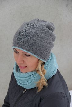 Ravelry: Three Diamonds Double Hat pattern by Tanya Mulokas