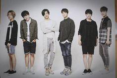 B.A.P - Jongup , Daehyun, Bang Yongguk ,Youngjae , Himchan , Zelo