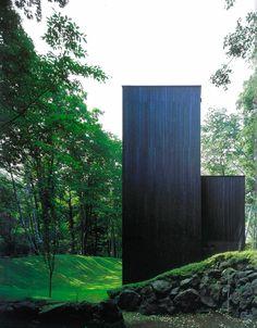 architect satoshi okada  house in the forest