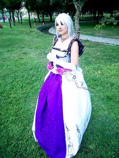 Daughter of White by *PrisCosplay on deviantART Tags: Cosplay, Vocaloid, Yowane Haku, Evillious Chronicles, Seven Sins Series, Story of Evil, Daughter of White, Clarith