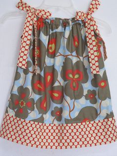 Childrens Pillowcase Dress Amy Butler Lotus by AquamarsBoutique, $24.00
