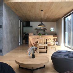 Interior Walls, Interior Lighting, Interior Design, Japanese Modern House, Muji Home, Natural Interior, Home And Living, Home Furnishings, Kitchen Design