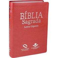 Biblia Sagrada Revista E Corrigida Com Letra Gigante Purpura