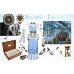 Steampunk Cinderella by erulisse17 on Polyvore