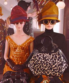 If only public transportation actually had anything in common with Louis Vuitton's fall '12 campaign