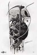 pattern tattoos with meaning Tatto Skull, Tatoo Art, Skull Art, Body Art Tattoos, Sleeve Tattoos, Grim Reaper Art, Grim Reaper Tattoo, Tattoo Studio, Design Your Tattoo
