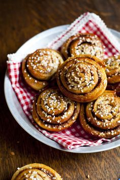 Swedish Cinnamon Buns from Donal Skehan. As adorable as he is.