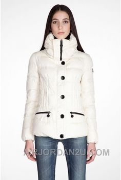 www.airjordan2u.c... 2016 NEW ARRIVALS MONCLER DOWN COATS WOMEN WHITE 274590 Only $158.00 , Free Shipping!
