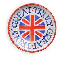 Emma Bridgewater Pottery Union Jack Deepwell Tray