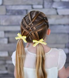 30 Super Cute Hairstyles For Little Girls 30 Super Cute Hairstyles For Little Girls Cute Hairstyles For Kids, Baby Girl Hairstyles, Princess Hairstyles, Pretty Hairstyles, Easy Hairstyles, Hairstyles Videos, Hair Videos, Hairstyles Haircuts, Little Girl Hairdos