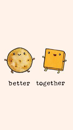 Be together. Not the same.