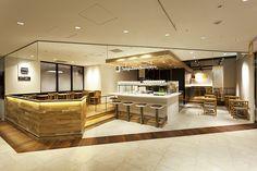 Soup Stock Tokyo Ikebukuro Retail Interior, Cafe Interior, Interior Design, Cafe Shop, Cafe Bar, Restaurant Design, Restaurant Bar, Soup Bar, Coffee Shop Design