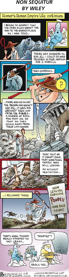 Non Sequitur Comic Strip, December 08, 2013 on GoComics.com