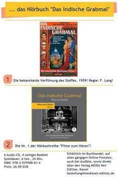 ... die wohl heute bekannteste Verfilmung des Stoffes! Paul Hubschmid, Fritz Lang, Movie, Reading