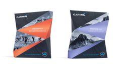 Креативная геометричная упаковка для GPS системы - http://www.thedieline.com/blog/2014/7/9/student-garmin-adventures