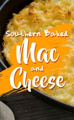 This baked macaroni and cheese recipe also works well with boxed macaroni and cheese, poured into a casserole dish and baked. We recommend either Annie's Organic Shells & White Cheddar Mac and Cheese (you can get a pack of Southern Baked Macaroni And Cheese Recipe, Southern Mac And Cheese, Mac Cheese Recipes, Mac And Cheese Homemade, My Recipes, Cooking Recipes, Favorite Recipes, Pasta Recipes, Cooking Bacon