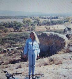 Patty Aguirre. Durango desert, Mexico.