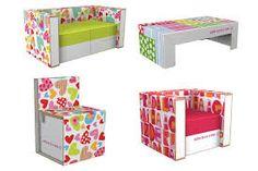 muebles de carton -.