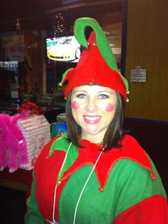 My name is Bobbi B. and this photo was taken in November, 2012, where I volunteered as an elf for Bowling Green's Holiday Bash which is a large fundraising event for local charities. Thanks for your consideration! Contest rules: https://www.holidayworld.com/holiblog/smiling-santa-photo-contest Bobbi B., Austin, Kentucky